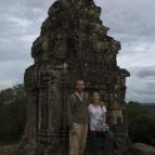 Sam and Lisa at Phnom Bakheng