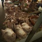 The markets in Siem Reap