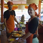 Our cooking class in Siem Reap