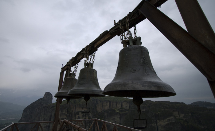 The bells of Moni Agios Triados