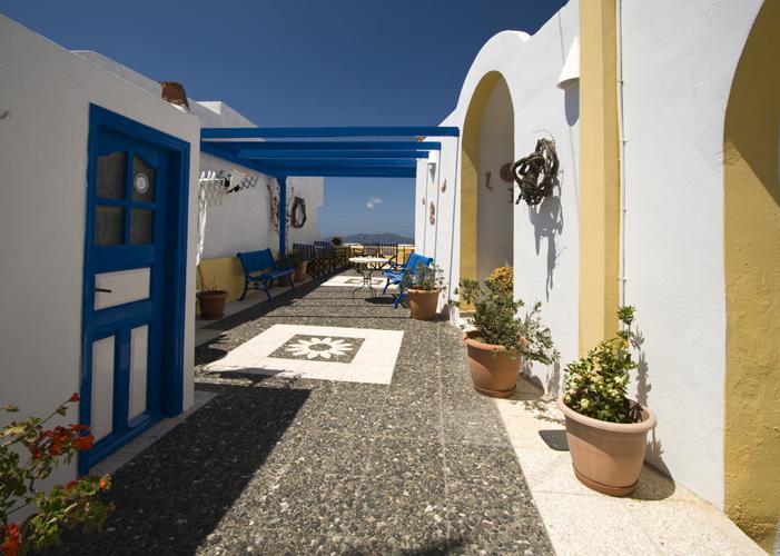 Santorini houses