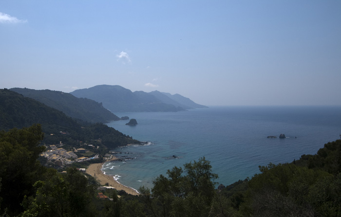 Looking south over Pelekas Beach