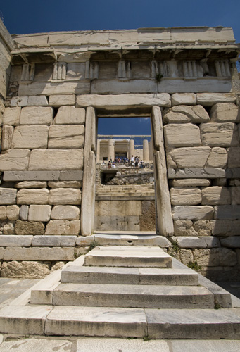 The Acropolis' Beule Gate