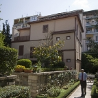 The house in which Ataturk was born and raised (inside what is now the Turkish Consulate)