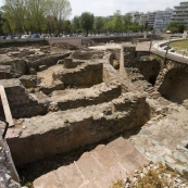 A Roman Agora in downtown Thessaloniki