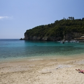 One of the many coves at Paleokastritsa on Kerkyra's west coast