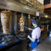 The best kebab shop on the planet located on Plateia Exarhion in Exarhia