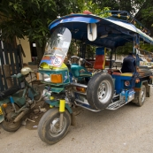 Our tuk-tuk to the bus station