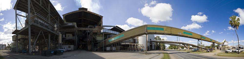 One of the many sugar mills around Mackay