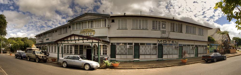 Lake Eacham Hotel in Yungaburra