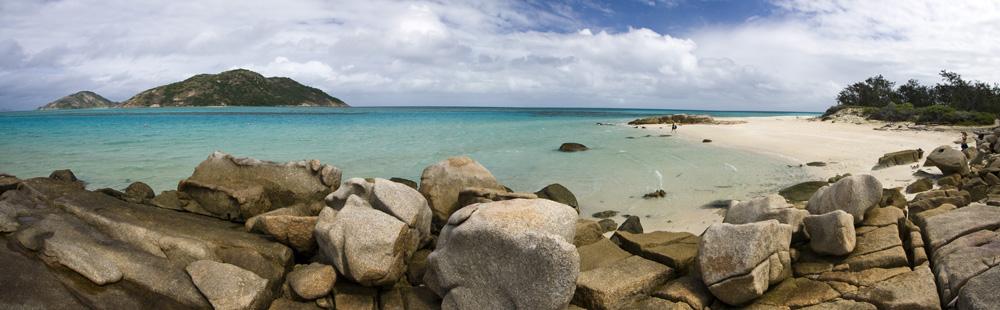 Panoramic of Loomis Reef