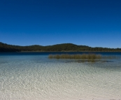 Crystal clear waters of picturesque Lake Birrabeen
