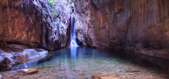 Mac Micking Pool in El Questro Gorge