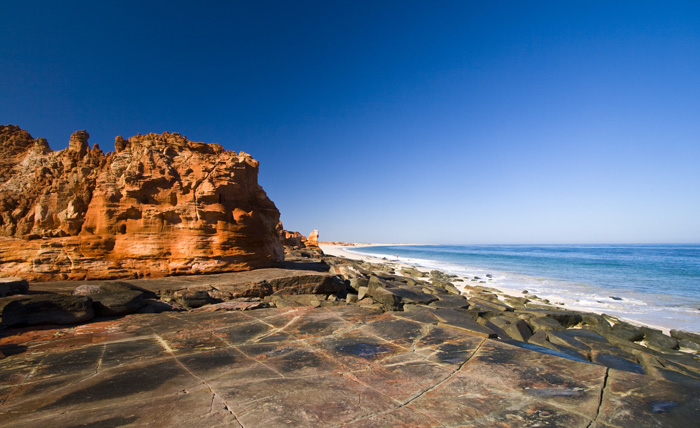 The western beach at Cape Leveque