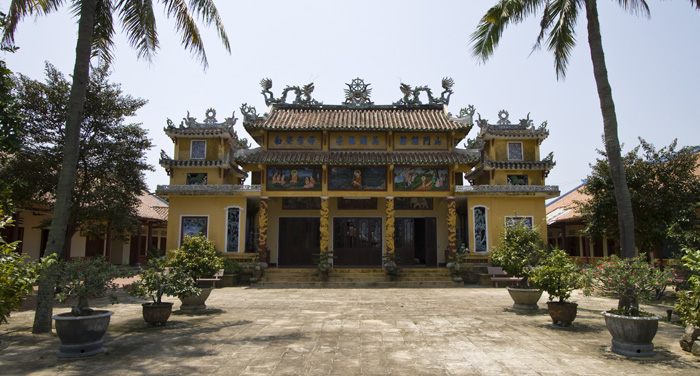 A Buddhist Temple in the countryside north of Hoi An