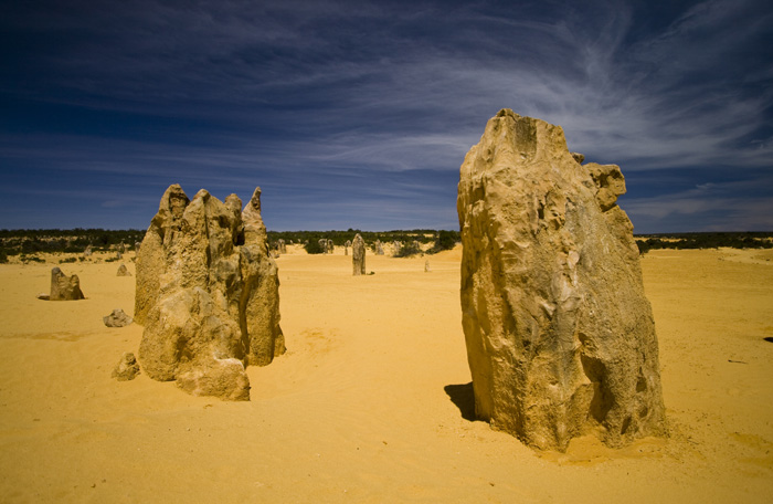 The Pinnacles Desert in Nambung National Park