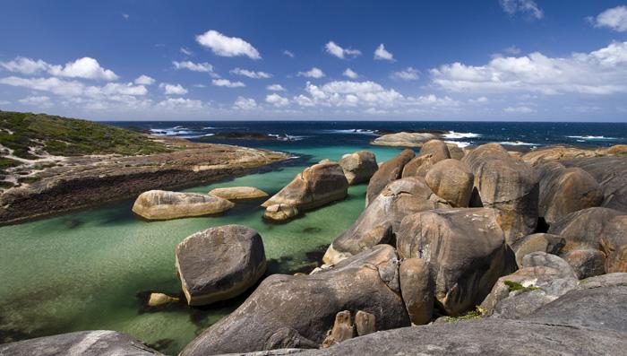 The beautiful Elephant Rocks between Walpole and Denmark
