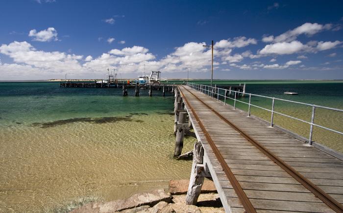 The Venus Bay jetty