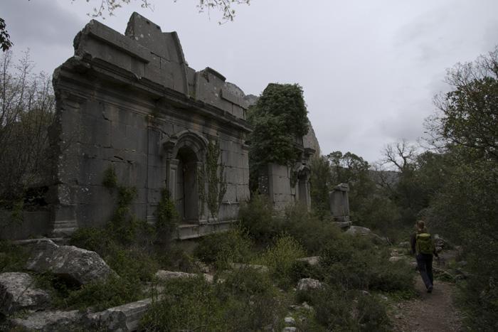 Termessos' gymnasium and bath