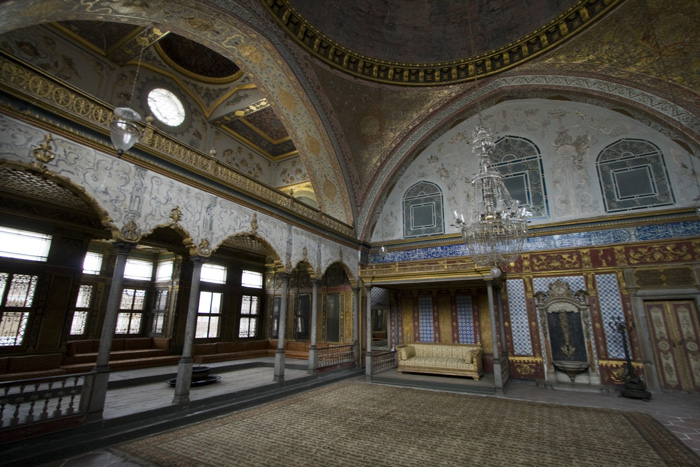 The Imperial Hall in Topkapi Palace