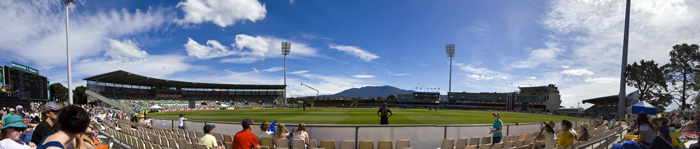 Women's cricket at Bellerive Oval