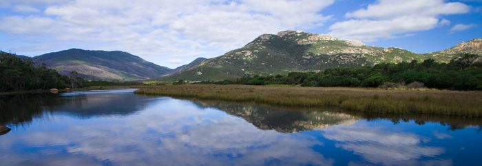 Todal River and Mount Oberon