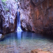 Mac Micking Pool in El Questro Gorge