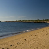 The beach at McGowan's Island