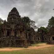 Thommanom (the only temple in Angkor still in its original condition)