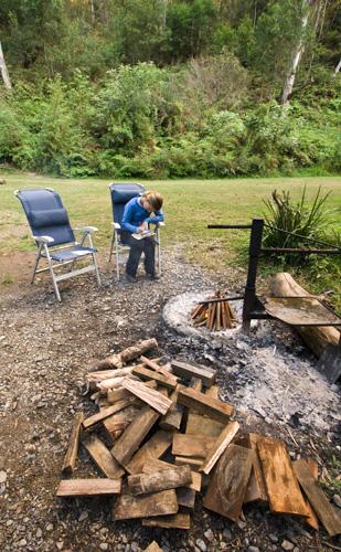 Camping at Platypus Flat in Nymboi Binderay National Park