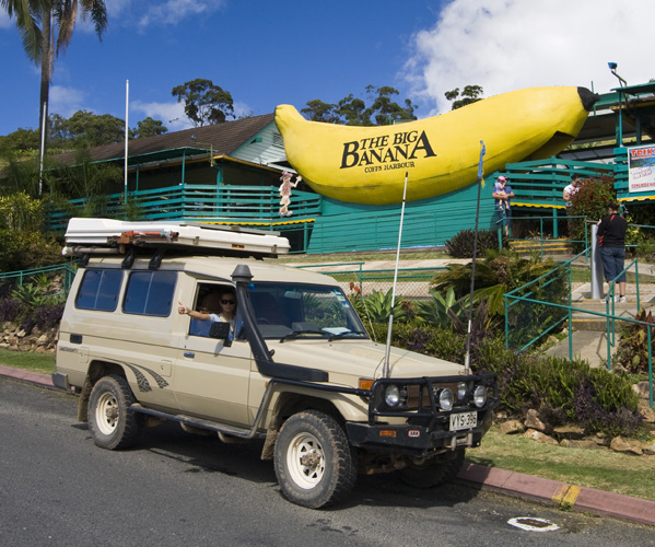 The Big Banana in Coffs Harbour