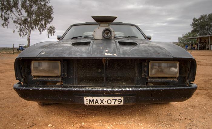 The Mad Max car in Silverton