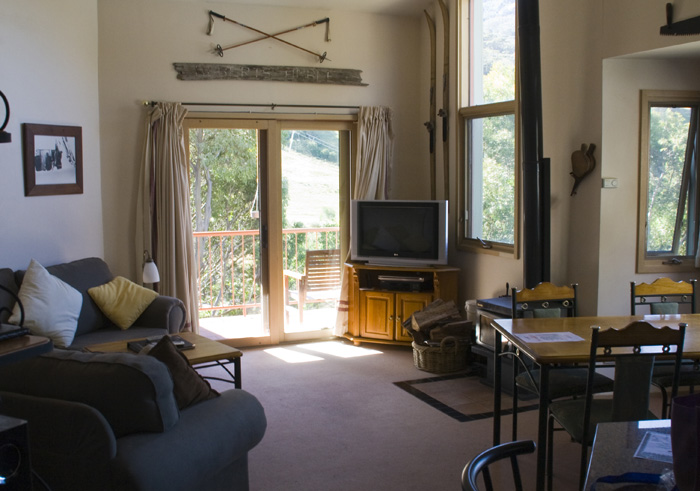 Our abode at Lhotsky Apartments in Thredbo
