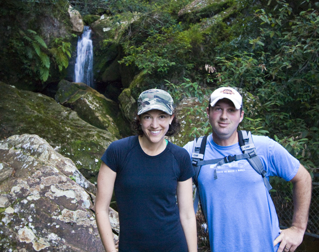 Jarrid and Jacque in Leura Forest