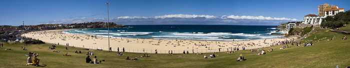 Australia's most famous strip of sand: Bondi Beach