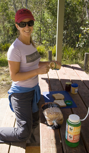 Making lunch at Gloucester Tops in Barrington Tops National Park