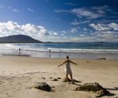 Lisa on Kylies Beach