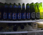 The least we could do was stock the fridge for Anna and Matt for the long weekend...