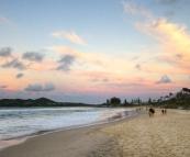 Sunset over Byron Bay