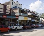 The quaint hinterland town of Bangalow