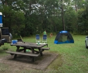 Our campsite in Mebbin National Park