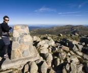 Will at the peak of Mount Kosciuszko
