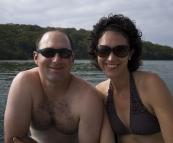 Jarrid and Jacque at Lake Conjola