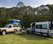 Camping at Congo