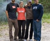 Camping at Aragunnu in Mimosa Rocks National Park