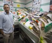 Jarrid at the Sydney Fish Market