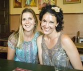 Lisa and Jacque at the Australian Hotel