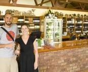 Sam and Lisa at McWilliams Mount Pleasant Winery