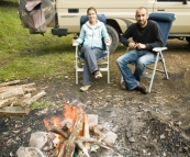 Camping at Gloucester River campsite