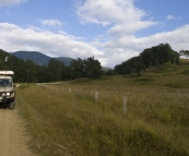 Picturesque farmland on the drive out of Barrington Tops National Park